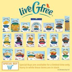 Aldi's LiveGFree line of foods is economical and taste great.