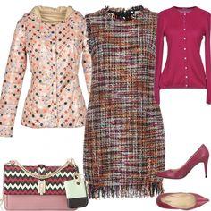 6c6dad8d219133 La giacchina sopra il vestito: outfit donna Bon Ton per ufficio | Bantoa
