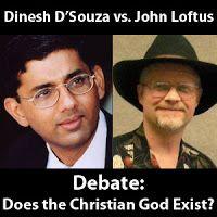 Dinesh D'Souza vs. John Loftus Debate MP3 Audio - Apologetics 315