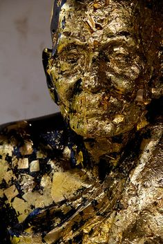 Gold Leaf Buddha by sleepydisco, via Flickr