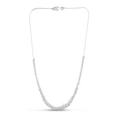 Loops Chain Necklace Silver