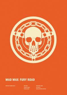 Mad Max: Fury Road - minimal movie poster - Matt Needle