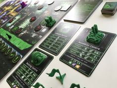 This is the Mercury Faction from the game called MIND - The Fall of Paradise, a 1-4 sci-fi strategy boardgame.