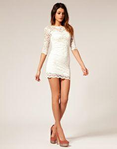 lace dress for rehearsal dinner...if it was a little bit longer