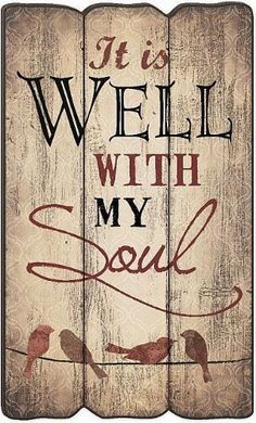 It Is Well With My Soul Fence Post Art 23.5 X 14 P Graham Dunn http://www.amazon.com/dp/B00JZC63F0/ref=cm_sw_r_pi_dp_2ONWub1GQYFTV