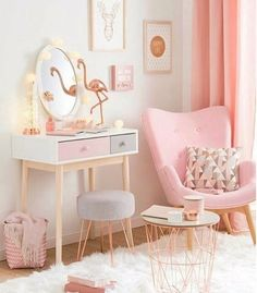 Awesome Deco Chambre Rose that you must know, You?re in good company if you?re looking for Deco Chambre Rose Gold Rooms, Cute Room Decor, Wall Decor, Pink Room, Pink Gold Bedroom, Bedroom Ideas Rose Gold, Pink Girl Rooms, Light Pink Girls Bedroom, Rose Gold Room Decor