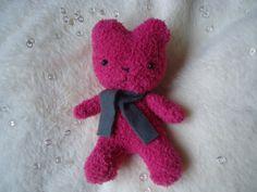 Pink Pocket Bear by judithchen on Etsy, €15.00