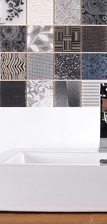 Luxury tile for bathroom or home