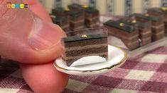 DIY Fake food - Miniature Chocolate Cake ミニチュアチョコレートケーキ作り