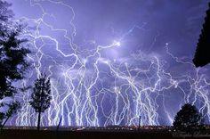 Multiple lightning strike Pretoria
