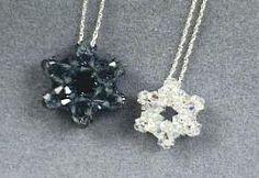 Star of David Pendant Necklace Beading Tutorial  http://www.jewelrymakingprofessor.com/products/Star-of-David-Pendant-Necklace-Beading-Video.cfm