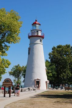 Marblehead Lighthouse - Lakeside, Ohio