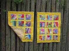 Crumb Quilts Yellow by Koshka2, via Flickr
