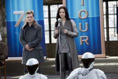 Katniss and peeta catching fire