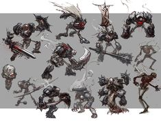 Darksiders - Characters by Paul Richards