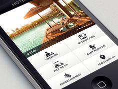 Hotel Dashboard by Gokhun Guneyhan #UI #hotel #luxury