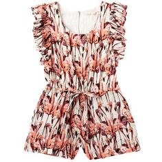 Flamingo Playsuit by Tutu du Monde