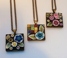 pretty mosaic jewelry
