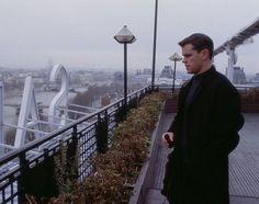The Bourne Identity, avec / with Matt Damon - Vue depuis le toit de la Samaritaine à / From the roof of the Building in Paris The Bourne Ultimatum, Bourne Supremacy, Jason Bourne Series, Matt Damon Movies, Matt Damon Jason Bourne, Bourne Movies, What's It Gonna Be, Bourne Legacy, The Bourne Identity