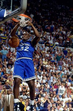 One of the reasons i like the magic when i religiously began watching the NBA Shaquille O'Neal Orlando Magic