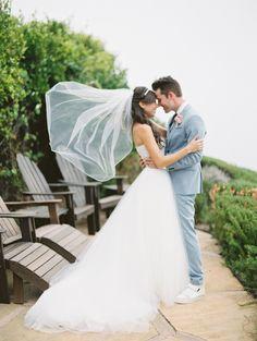Youtube star Miranda Sings' wedding: http://www.stylemepretty.com/2015/08/11/youtube-stars-colleen-ballinger-joshua-evans-wedding/ | Photography: Britta Marie - http://brittamariephotography.com/