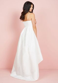 The Exchanging of Wows Dress in White | Mod Retro Vintage Dresses | ModCloth.com