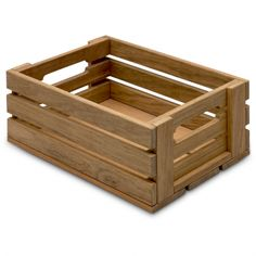 Explore teak storage crates and minimalist organization boxes at HORNE, where we define new ways of living well. Easy Woodworking Projects, Diy Wood Projects, Woodworking Shop, Wood Project Plans, Free Woodworking Plans, Woodworking Techniques, Wood Storage Box, Crate Storage, Wooden Storage Crates