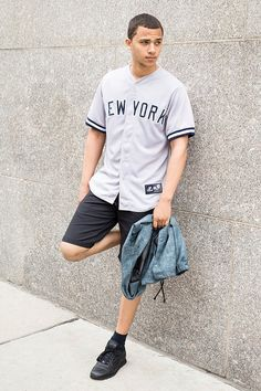 Majestic New York Yankees Baseball Jersey Tee