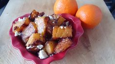 Suzanne's Kitchen : Roasted butternut squash with pecans and blue cheese