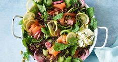 For quick and easy entertaining try this delicious smoked salmon and quinoa salad.