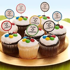 Fun-O-lympics! 6 Olympics Party Ideas: Championship Cup (cakes) (via FamilyFun Magazine)