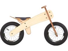 Wooden Runbike, Balance Bike, Wooden Bicycle, Bike on etsy by thewoodenhorse