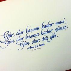 Osman Kartaler / Kaligrafi Sanatcisi