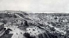 Киев в 1862 году. Гравюра