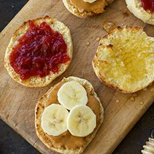 English Muffins: King Arthur Flour