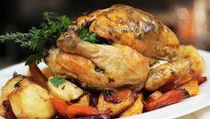 Herby Roast Chicken Protein Rich Diet, Garlic Bulb, Chicken Skin, Roast Chicken Recipes, Grocery Coupons, The Dish, Food And Drink, Turkey, Chicken