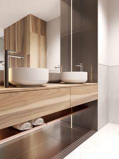 Petite, Precious & Pastel Home Interior (Interior Design Ideas) Bathroom Colors, Bathroom Sets, Bathroom Faucets, Bad Inspiration, Bathroom Inspiration, Modern Bathroom Design, Bathroom Interior Design, Home Interior, Futuristisches Design