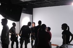 Shooting at Banzai Studio of the spot for YOLADO.  Rodaje del spot de YOLADO en Banzai Studio http://www.banzaistudio.tv