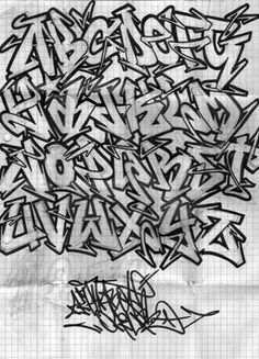 Resultado de imagen para граффити алфавит
