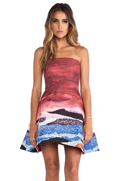 Angelys Balek Sun Kissed Dress in Multi