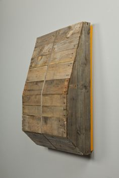 Travis Lamothe Paunch, 2010 Wood, steel, enamel