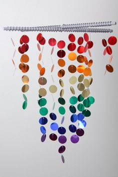 Baby Mobile / Chandelier Rainbow made to order by MissMaysMobiles