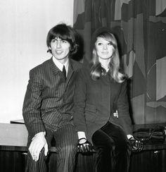 George Harrison and Patti Boyd, 1966