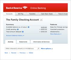 Manage Your Bank Accounts