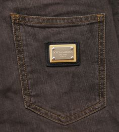 DOLCE&GABBANA Women Metal Plate Skinny Jeans size 36 EU 0 US EUC $495 #DolceGabbana #SlimSkinny