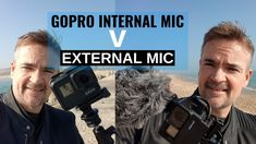 Comparing the GoPro Hero Black internal mic against a Rode VideoMicro Compact External mic with the microphone adaptor in windy conditions at Poole Quay . Gopro Hero, Science And Technology