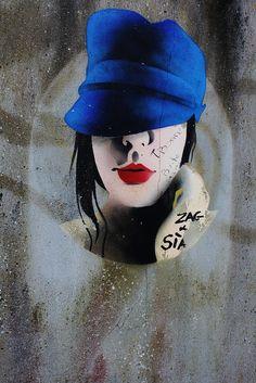 Zag + Sia Street Art (Morlaix, France)