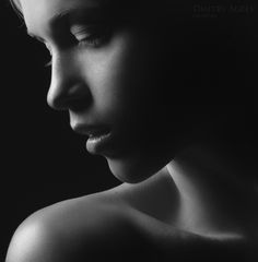 Another beautiful portrait and use of light by Dmitry Ageev