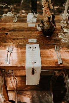 Brett + Cay   Die Woud Caledon – Grace Charlotte Boho Wedding Decorations, Place Cards, Charlotte, Place Card Holders