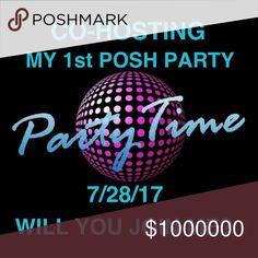 SO EXCITED!!! 7/28/17 PLEASE JOIN ME! SO EXCITED!!! 7/28/17 PLEASE JOIN ME!  THEME TBD!!! 7pm EST lululemon athletica Tops